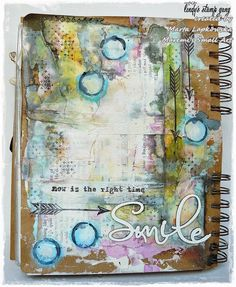 Hello everyone ! It's Marta Lapkowska here. I am back to you with my new mixed media journal page. Those who know me know that this is my favourite way of creating. This piece is a perfect example for every journal beginner. I used very basic list of materials, book pages, masking tape, gesso, some … More Art Journal Page Tutorial By Marta Lapkowska