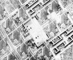 Le Corbusier | Plan Voisin | 1925
