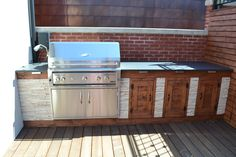 Built-in Grill Area