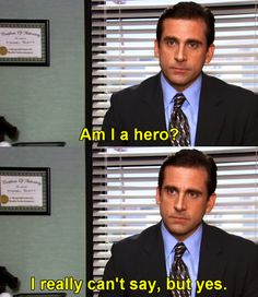 Michael Scott/Steve Carell (The Office)