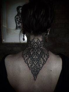 Back of the neck design