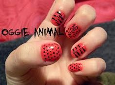 animal print :)  nail design - Buscar con Google