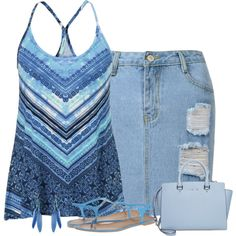 blau by divacrafts on Polyvore featuring moda, maurices, Chinese Laundry, MICHAEL Michael Kors, Etro and Original