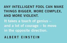 Quotables: Einstein on Genius