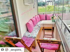 #Repost @_sevgidris_ (@get_repost) ・・・ Eşimin anneler günü hediyesi ������ balkonun son hali������ yapılacak bir kaç şey daha var aklımda benim gibi dar uzun balkonu olanlara fikir olur belki �� . . . #balkon #balkondekorasyonu #homedecor #fashion #evdekorasyonu #evinizdenkareler #benimguzelevim #house #pink #shiny #pretty #home #homesweethome�� http://turkrazzi.com/ipost/1517625709094194478/?code=BUPsIqsj00u