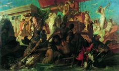 Ганс Макарт. Охота Клеопатры на Ниле