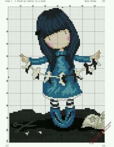 Thrilling Designing Your Own Cross Stitch Embroidery Patterns Ideas. Exhilarating Designing Your Own Cross Stitch Embroidery Patterns Ideas. Cute Cross Stitch, Cross Stitch Charts, Cross Stitch Designs, Cross Stitch Patterns, Cross Stitching, Cross Stitch Embroidery, Embroidery Patterns, Hand Embroidery, Stitch Doll
