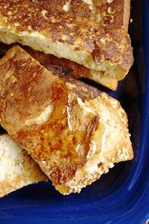 Fabulous-French-Toast by Dreena Burton - our favorite (vegan) French toast recipe. Vegan Breakfast Recipes, Delicious Vegan Recipes, Yummy Food, Vegetarian Recipes, Tasty, Vegan Foods, Vegan Dishes, Vegan Meals, Healthy Foods