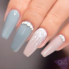 Nail Art Trends for a Coffin Nail Shape ★ See more: https://naildesignsjournal.com/coffin-nail-shape-art-trends/ #nails