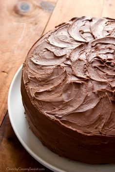 The Best Chocolate Cake - chocolate cake perfection! You won't believe how easy it is to make!!!