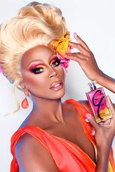 RuPaul's Fashion and Beauty Advice for Miley Cyrus, Rupaul makeup and fragrance?! So AMAZING!