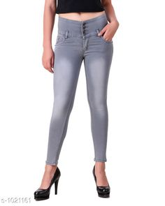 Jeans Trendy Denim Women's Jean  *Fabric* Denim  *Waist Size* 28 in, 30 in, 32 in, 34 in  *Length* Up To 40 in  *Type* Stitched  *Description* It Has 1 Piece Of Women's Jean  *Pattern* Solid  *Sizes Available* 28, 30, 32, 34, 36 *    Catalog Name: Aria Stylish Denim Women's Jeans Vol 1 CatalogID_123213 C79-SC1032 Code: 804-1021161-