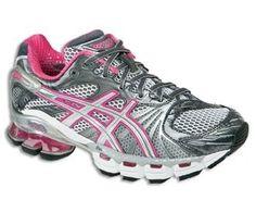 Assics running shoes
