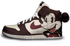Nike Dunk - Vintage Mickey by Brass Monki