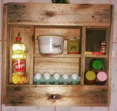 # Porta condimentos# pallets # customização#