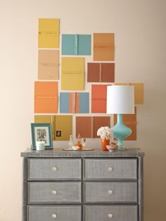 Wondering what to do with that big blank space? See how HGTV Magazine styled walls with high-impact ideas.