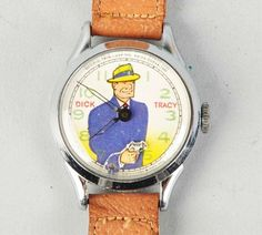 1951 Dick Tracy Style 1 Wristwatch | Collectors Weekly