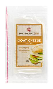 Joan of Arc® Goat Cheddar offers cheese lovers the best of both worlds: a delightfully complex Cheddar flavor with subtly tangy undertones from the goat's milk. The cheese's smooth finish works well as a table cheese and its easy-to-slice texture allows the cheese to shine on sandwiches. When paired with a subtly impactful red like Petite Sirah, Goat Cheddar cheese's mellow tone hums in perfect harmony.