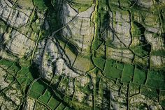 Cliffs of Inishmore, Aran Islands, County Galway, Ireland - Yann Arthus Bertrand