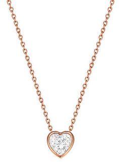 Esprit Halskette, mit Zirkonia, »ESPRIT-JW50037 rose, ESNL02764C420« im Universal Online Shop Gold Necklace, Rose, Shopping, Jewelry, Fashion, Morning Of Wedding, Romantic Gifts, Neck Chain, Wedding Bride