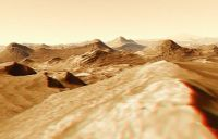 VISIT MARS IN 3D  It will be a very long time before we can afford to send humans to Mars, but a virtual visit in 3D is now possibnle thanks to MARS3DdotCOM, an initiative from Adrian Lark who used real NASA data to recreate the red planet in 3D.DiscoveryNews presents MARS3DdotCOM here.http://news.discovery.com/space/barnstorming-mars-in-3d.htmlMARS3DdotCOM published lots of videos on YouTube, but for now only one is in 3D. View it here. It will be a very long ti...