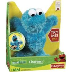 cookie monster toys - Google Search
