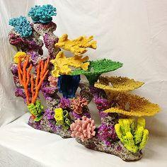 Custom aquarium,reef insert,aquarium decoration,fake coral,fish tank,custom coral,artificial reef