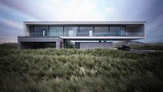 Lichtecht: Architektur- und 3D-Visualisierungen aus Hamburg Haus in den Dünen / Dune House