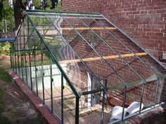 "Check out our internet site for even more information on ""greenhouse ideas buildings"". It is actually an outstanding place to get more information. Basement Entrance, Basement Windows, Walkout Basement, Basement Stairs, Greenhouse Attached To House, Diy Greenhouse, Underground Greenhouse, Window Well, Porche"