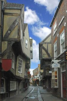Mentioned in the Domesday book (making it date over 900 years), we know Shambles to be York 's oldest street, and Europe's best preserved Medieval street.