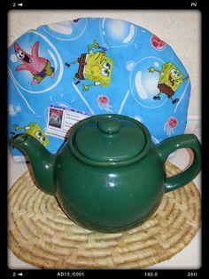 Sponge Bob tea cosy by loosediesel on Etsy, $10.00