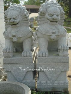 CHINESE FOO DOGS | home statuary guardian lions and chinese foo dogs