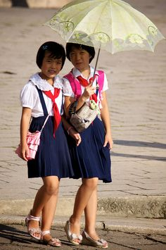 Does North Korea really think the world believes that this is how North Koreas live