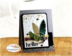 Stampin' Up - Four Feathers