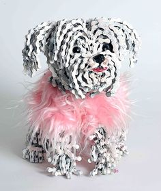 Awesome photos of  dogs made of chains. These are really impressive works of art!! - Some Pets