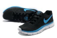 539df818ee5c Nike Free Trainer 3.0 Black Blue White  Black  Womens  Sneakers