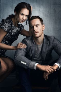 They can both get it! Michael Fassbender and Alicia Vikander ...