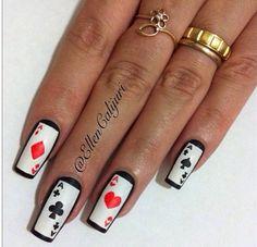 Ready for casino nails art