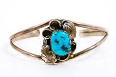 Navajo Turquoise Cuff By Harry Jake Native by WarrenExchange, $75.00