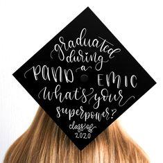Graduation Cap Grad Cap Grad Cap Decal Class of 2020 Disney Graduation Cap, Custom Graduation Caps, Graduation Cap Toppers, Graduation Cap Designs, Graduation Cap Decoration, Graduation Diy, Grad Cap, Graduation Quotes, Graduation Caption Ideas