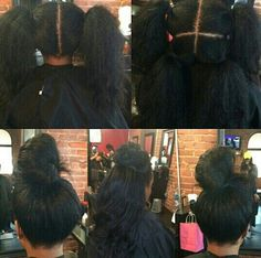 Vixen sew in ( looks like the weave bar idk) Long Weave Hairstyles, Black Hairstyles, Protective Hairstyles, Protective Styles, Girl Hairstyles, Vixen Sew In, Vixen Weave, Sew In Wig, Curly Hair Styles