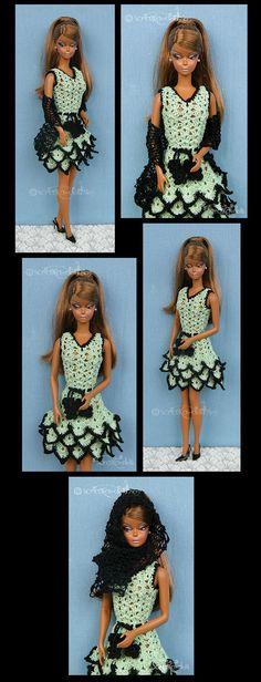 Oblečení pro Silkstone Barbie - Clothes for Silkstone Barbie   Scratka-doll