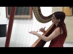 Claude Debussy - Claire de Lune - Harpa - Elena Shumanovska