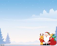 Free Christmas Gift PowerPoint Template is a present box design in ...