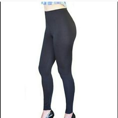 Leggings Classic Black Leggings from Peony and Moss  * PRICE FIRM * Peony and Moss Accessories Hosiery & Socks