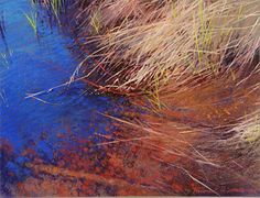 13-08 Whispering Waters full_-5%red_72 x 600 by Frederick Somers Pastel ~  x