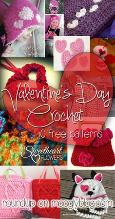 Handmade Love with Valentine's Day Crochet! 10 free patterns