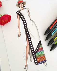 Dress Designs Drawing Artists - Fashion Show Dress Design Drawing, Dress Design Sketches, Fashion Design Sketchbook, Fashion Design Drawings, Dress Designs, Fashion Drawing Dresses, Fashion Illustration Dresses, Fashion Dresses, Fashion Model Sketch