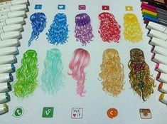 App hair colours
