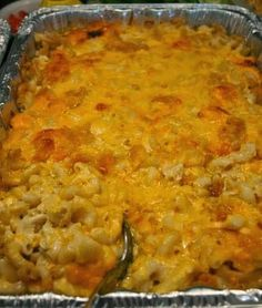 Ingredients: 1 pound elbow macaroni 1 cup whole milk 2 12-ounce cans evaporated milk 3 eggs 1 cup butter, cut into small pieces ½ pound Colby cheese, grated ½ pound Monterey Jack cheese, grated ½ pound sharp Cheddar cheese, grated 1 pound Velveeta cheese, cut into small chunks ½ cup sour cream Salt, to taste 1 TB white pepper 1 TB sugar 1 cup grated mild Cheddar cheese for the topping